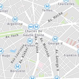 Hôtel à proximité de Métro Ternes, Paris