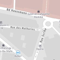 Rue Scribe Paris 75 Commerces boutiques et professionnels